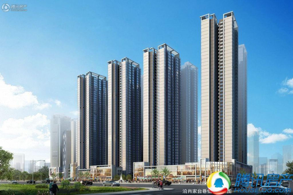 47万方襄阳昊天广场综合体建设